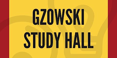 Gzowski Study Hall tickets