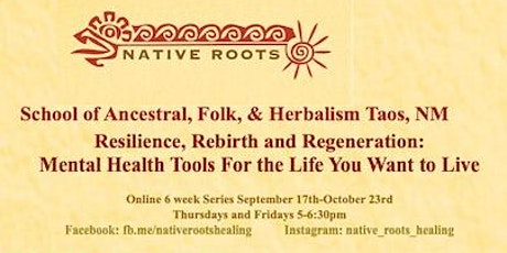 Resilience, Rebirth, Regeneration: Mental Health Tools tickets