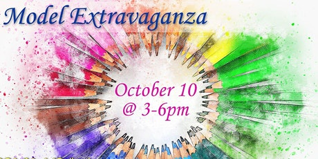 2nd Saturday's - Model Extravaganza with models of DC Art Model Collective! tickets
