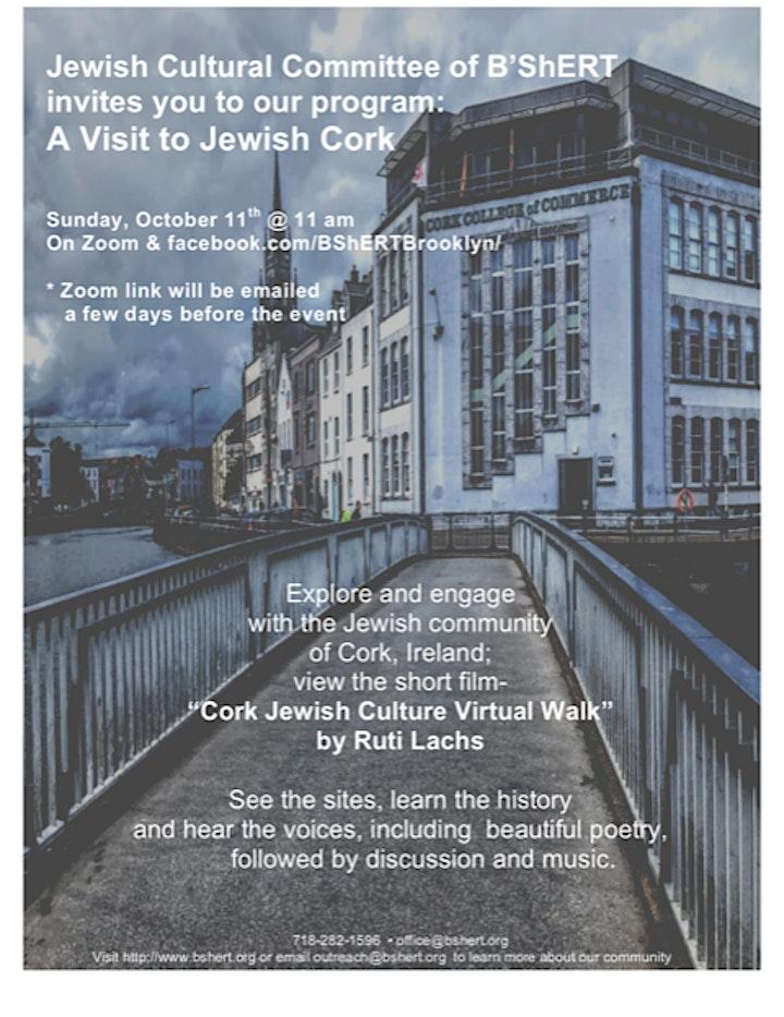 A Visit to Jewish Cork image