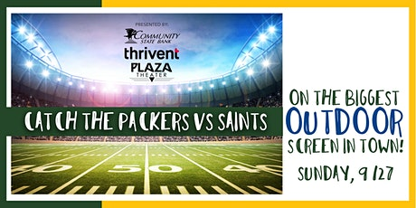 Green Bay Football Outdoors On the Big Screen! tickets