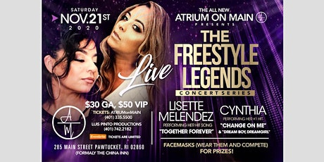Freestyle Legends Lisette Melendez & Cynthia tickets