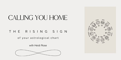 The Rising Sign in Your Astrological Chart tickets