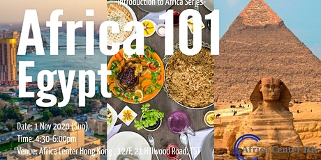 Africa 101 | Egypt tickets