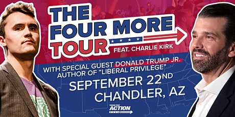 The Four More Tour feat. Charlie Kirk and Donald Trump Jr. tickets