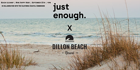 Just Enough Wines x Dillon Beach Resort Beach Cleanup tickets