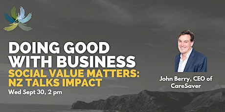 Doing Good With Business: Featuring John Berry tickets