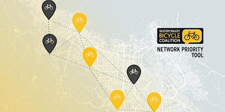 SVBC's Bicycle Network Priority Tool tickets
