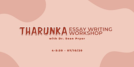 Essay Writing Workshop with Dr. Sean Pryor tickets