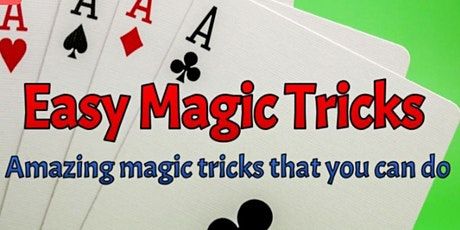 Magic Tricks 101 Online Workshop tickets