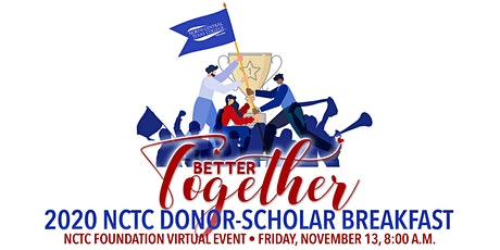 NCTC Foundation Donor/Scholar Virtual Breakfast tickets