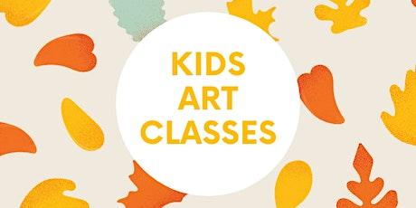 kids Fall Art  Classes with Mrs. Moran entradas