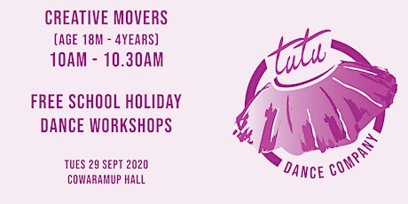 Creative Movers workshop tickets