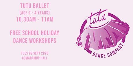 Tutu Ballet workshop tickets