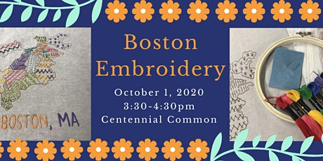 Boston Embroidery with OGS tickets