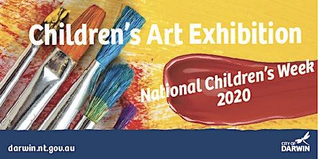 Children's Week Art Exhibition Opening tickets