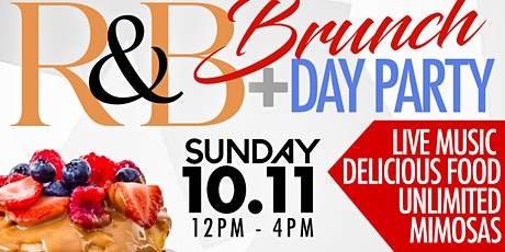 Rhythm & Brunch The ALL R&B Brunch & Day Party  -  Sun/ Oct 11th tickets