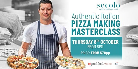 Authentic Italian Pizza Making Masterclass tickets