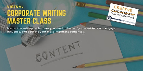 Virtual Corporate Writing Master Class tickets