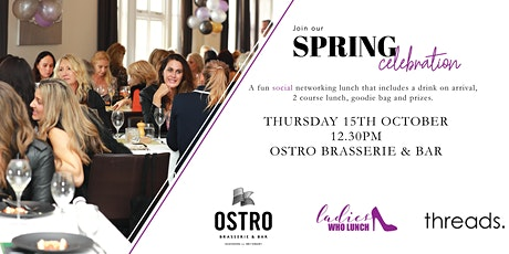 LADIES WHO LUNCH @ OSTRO tickets