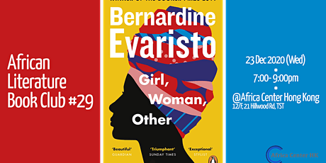 African Literature Book Club #29 | Girl, Woman, Other tickets