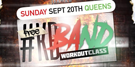 Sept 20th FREE #KBBand Workout Class by @KBTheTrainer tickets
