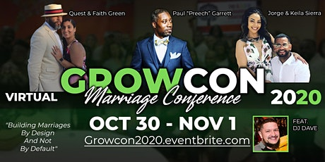 Virtual GROWCON 2020 tickets