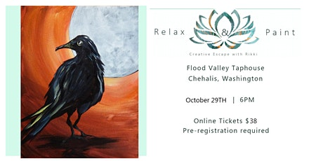 SOLD OUT! Spooky paint and sip at Flood Valley Taphouse tickets