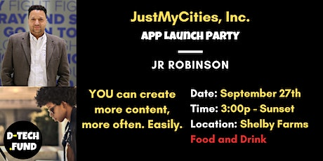 JustMyCities App Launch Party tickets