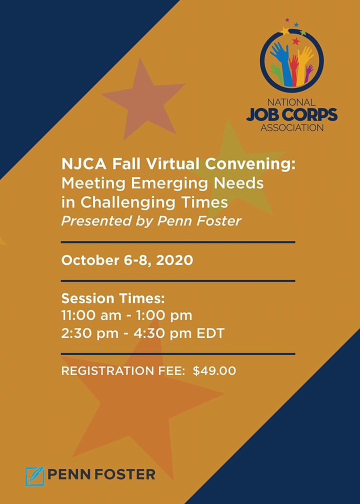 NJCA Fall Convening: Meeting Emerging Needs  in Challenging Times image