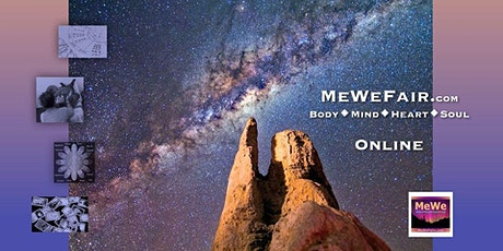 Free Online MeWe Metaphysics &  Wellness Fair for Body Mind Heart + Soul tickets