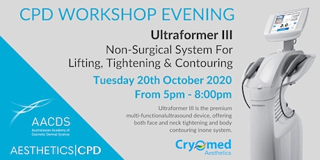 Ultraformer Workshop Evening September 2020 tickets