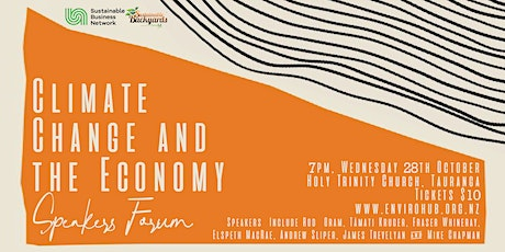 Climate Change & the Economy Speakers Forum tickets