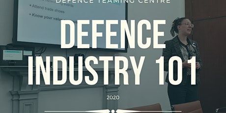 Defence Industry 101 in October 2020 - Webinar tickets
