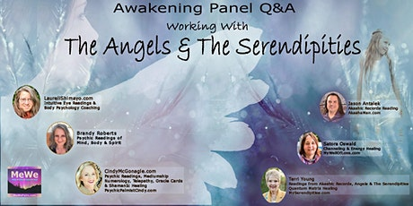 Working with Angels & The Serendipities, A MeWe Awakening Panel tickets