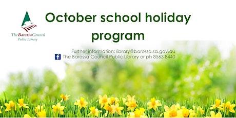 Barossa Libraries School Holiday - Seed planting @ Lyndoch tickets