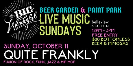 Live Music Sundays: Quite Frankly tickets