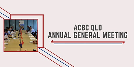 ACBC QLD Annual General Meeting RSVP tickets