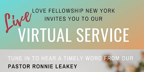 Love Fellowship New York - LIVE Worship Service tickets