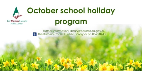 Barossa Libraries School Holiday - Seed planting @ Mt Pleasant tickets