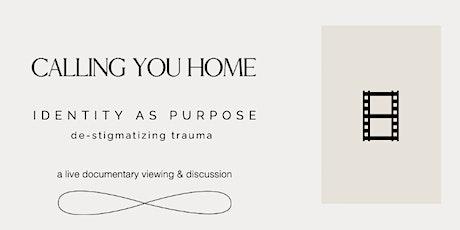Identity as Purpose: De-Stigmatizing Trauma tickets