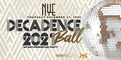 Decadence Ball Dallas NYE 2021 tickets