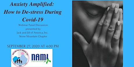 Anxiety Amplified: How to De-stress During Covid-19 tickets