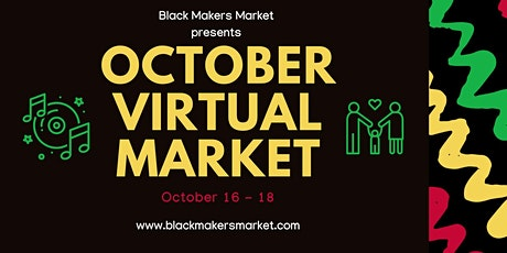 Black Makers Virtual Market tickets