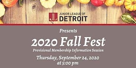 Junior League of Detroit  2020 Fall Fest I tickets