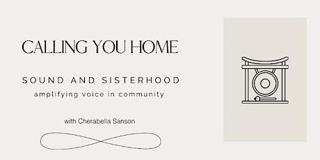 Sound & Sisterhood: Amplifying Voice in Community with Cherabella Sanson tickets
