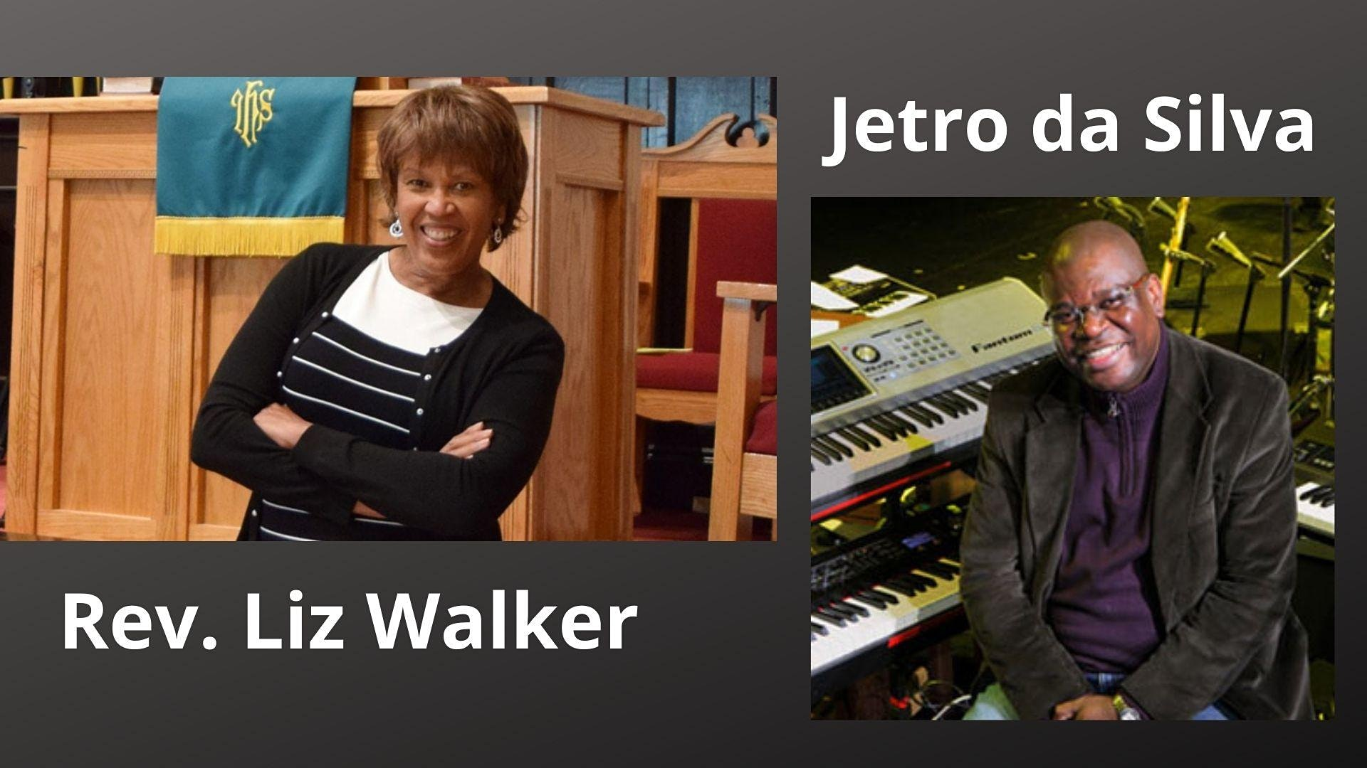 Join us online with jazz legend Jetro da Silva , along with Rev. Liz Walker. This is a FUNDRAISER for the Social Impact Center (link below)