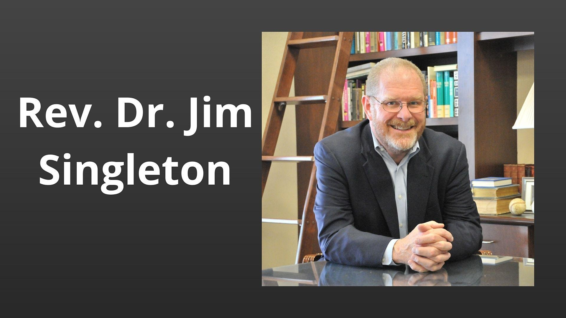Join Rev. Dr. Jim Singleton for a worship service examining the place of race in religion. Sermon based on Mark 8:22-26