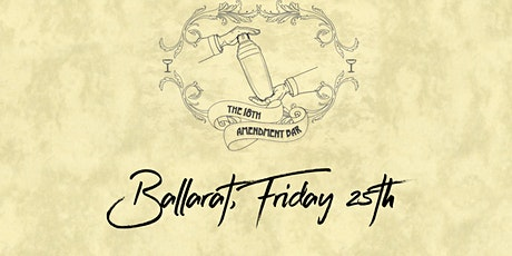 18th Amendment Bar, Ballarat, Friday 25th September tickets