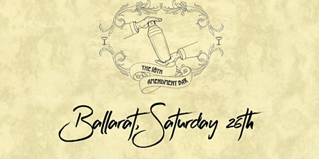 18th Amendment Bar, Ballarat, Saturday 26th September tickets